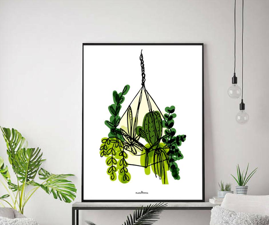 Jesienne Plakaty Botaniczne Do Druku Plakatówka