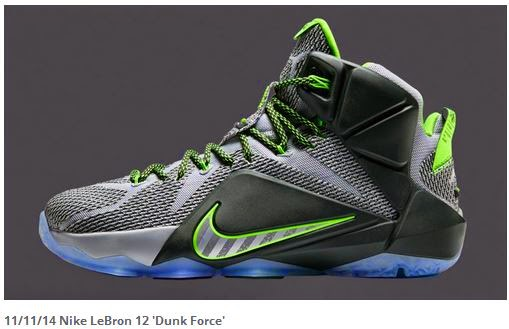 9cea0ec049dc THE SNEAKER ADDICT  7 Nike LeBron 12 Colorways Will Release In 2014 ...