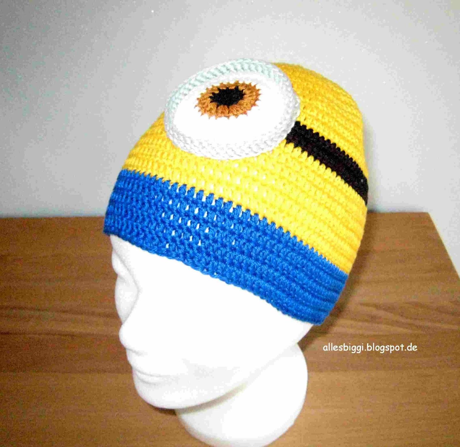 Mütze häkeln minions