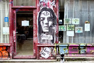 Sunday Street Art : Konny - rue Dénoyez - Paris 20