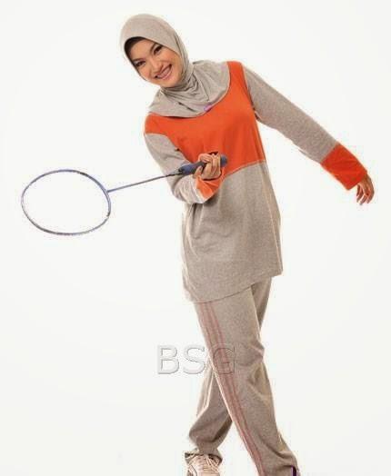 Gambar Baju Muslim Senam Sporty