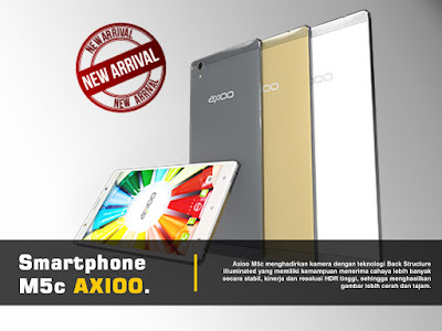 Smartphone M5c Axioo