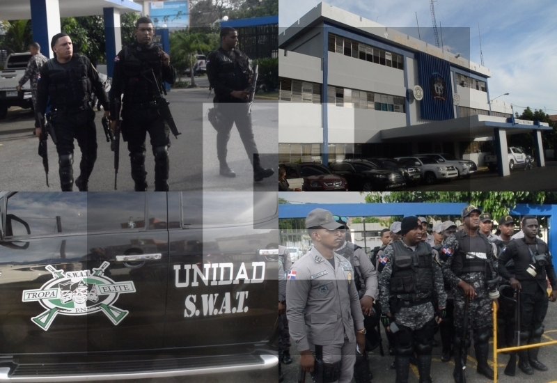 Video: Llega un lote de policías previo llamado a huelga en SFM