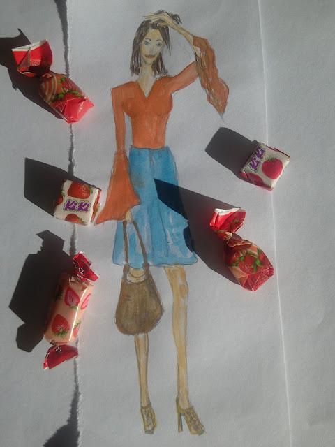 #moda #vodeneboje #akvarel #modnailustracija #fashionillustrationoftheday modaodaradosti