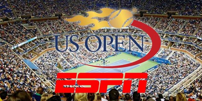 ESPN terá quase 150 horas de transmissão do US Open de Tênis