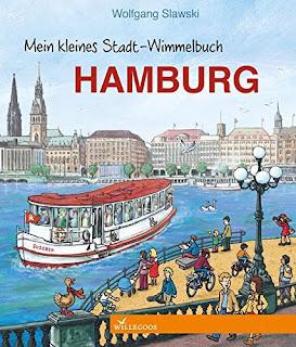 Cover von Wolfgang Slawski - Mein kleines Stadt-Wimmelbuch Hamburg