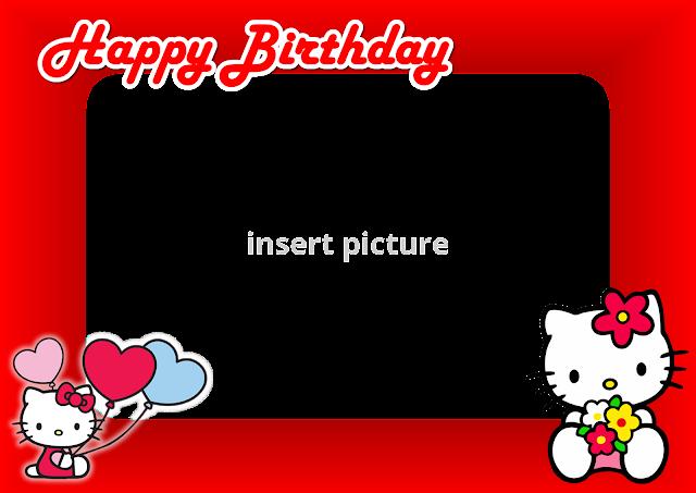 Red Hello Kitty Cake