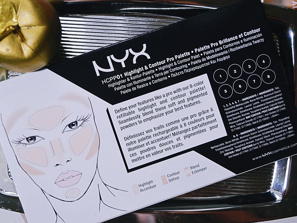 NYX Highlighter & Kontur Pro-Palette