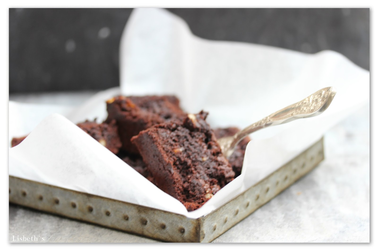 Traditionelle Amerikanische Küche Chocolate Death Brownies Lisbeths