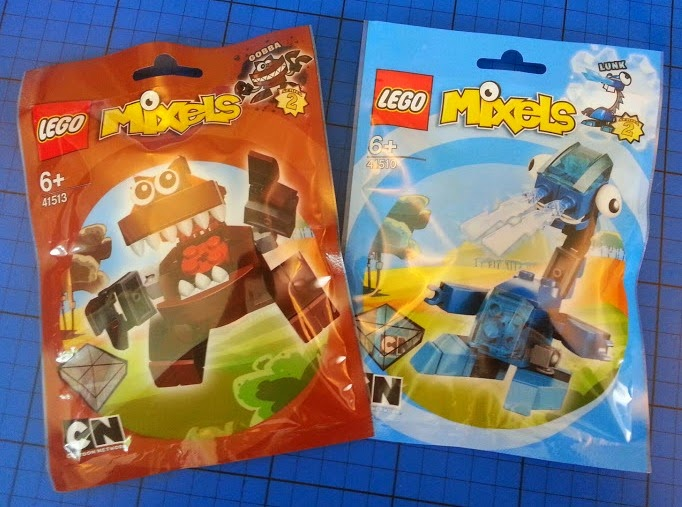 LEGO MIxels Series 2 Review Gobba and Lunk