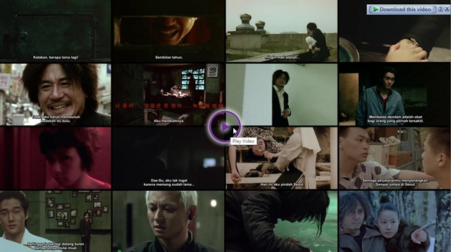 Screenshots Download Film Gratis Oldboy (2003) BluRay 480p MP4 Subtitle Indonesia 3GP Nonton Film Gratis Free Full Movie Streaming