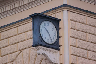 The station clock is now permanently set at the exact time the bomb exploded on that fateful Saturday morning