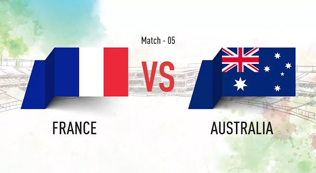 FRANCE  VS AUSTRALIA | PREDICT NOW AND WIN FREE AIRTIME AND CASH