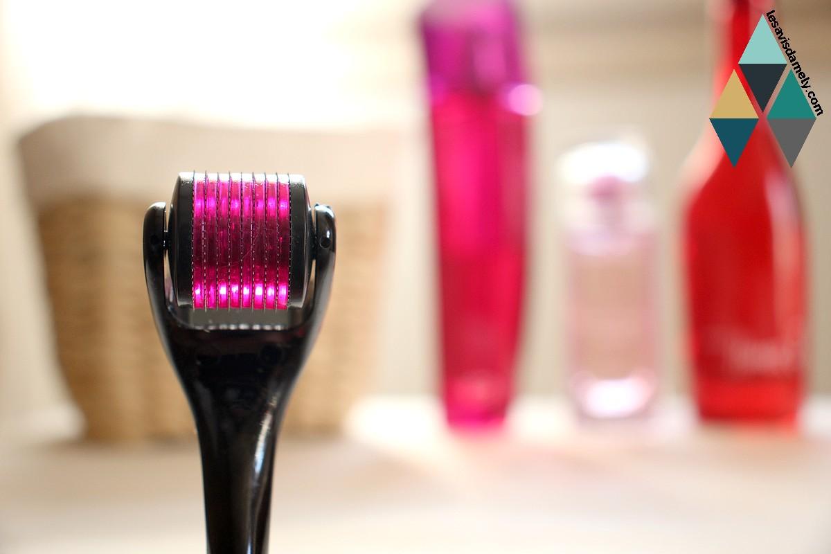 microneedling revue beauté soin peau lisse et rebondie