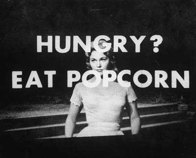 Υποσυνείδητες Διαφημίσεις και το περίφημο πείραμα με τα Popcorn και την Coca-Cola...