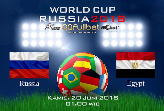 BOLA88 - PREDIKSI BOLA PIALA DUNIA : RUSSIA VS MESIR ( RUSSIA WORLD CUP 2018 )