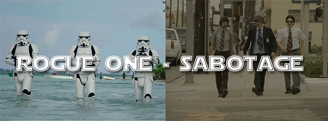 ROGUE ONE - SABOTAGE - STORMTROOPERS - BEASTIE BOYS