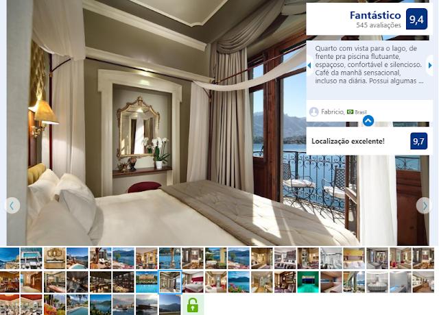 Hotel Grand Tremezzo para ficar em Milão