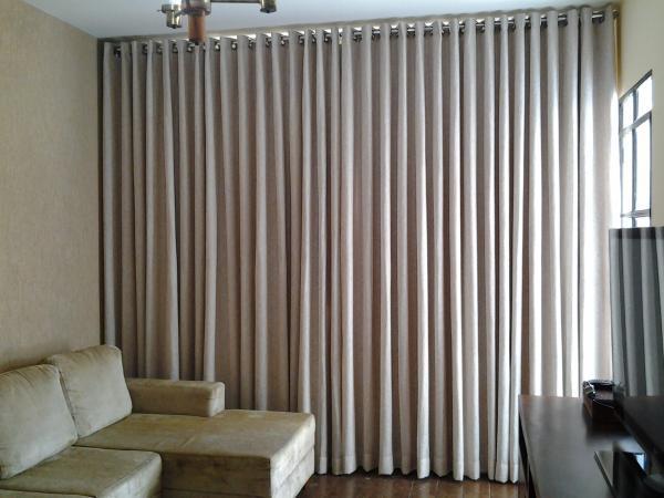 Construindo minha casa clean 20 tipos de cortinas for Cortinas de sala modernas 2016