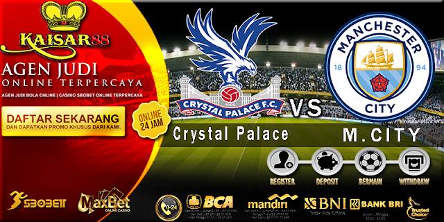 Prediksi Bola Jitu Liga Inggris Crystal Palace vs Manchester City 31 Desember 2017