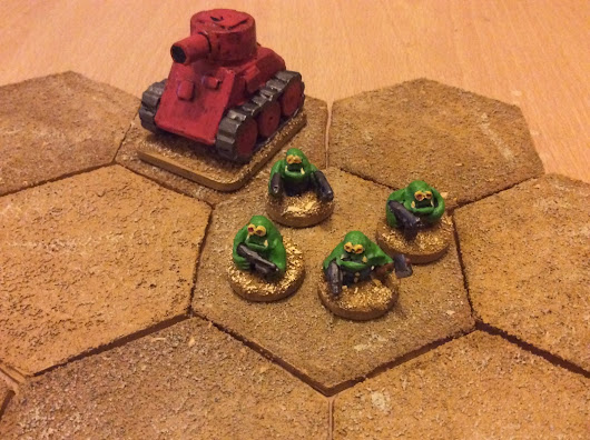 Space Orcs and Imperial Legionaries