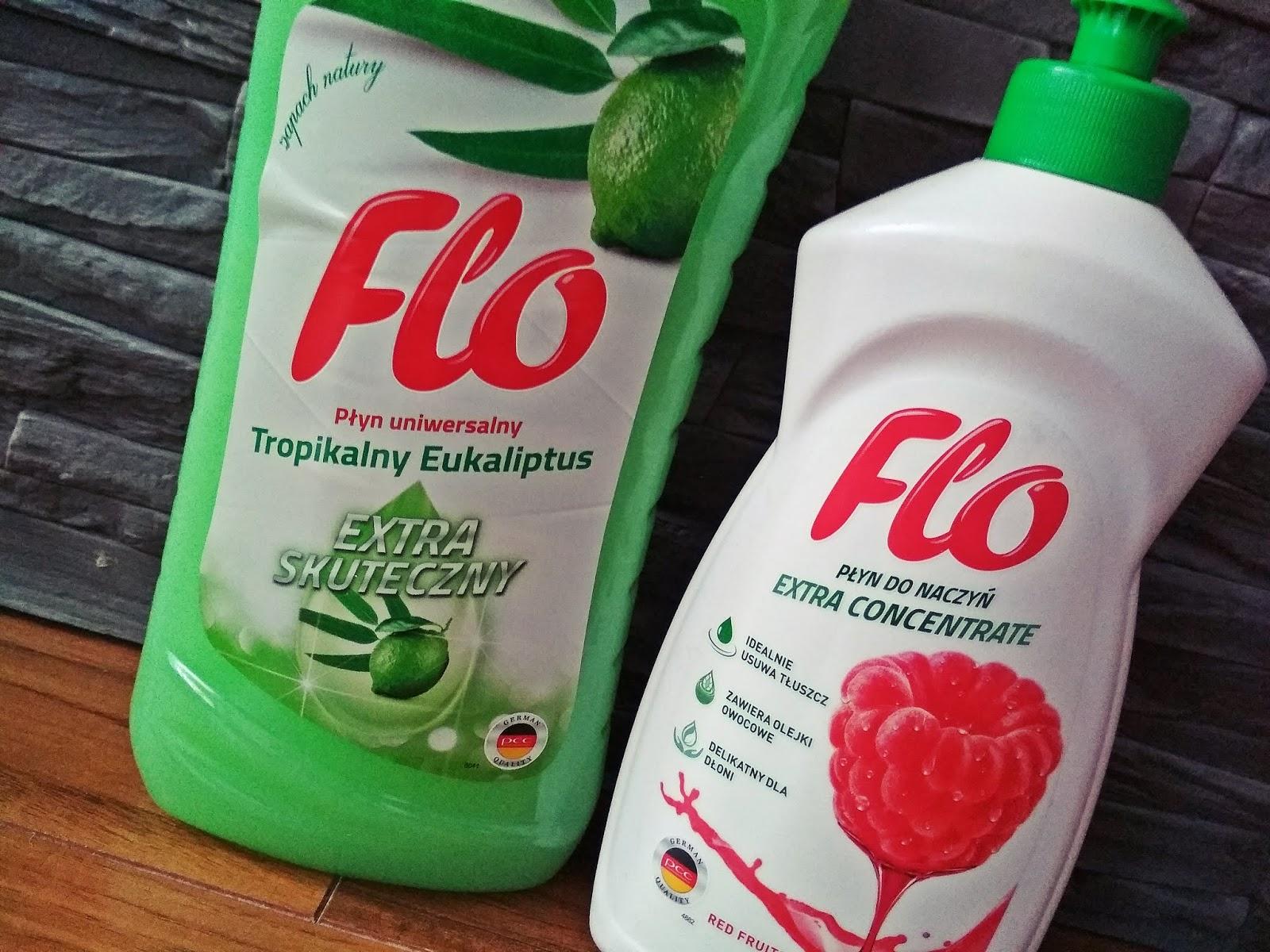 Tropikalny eukaliptus i czerwone owoce FLO