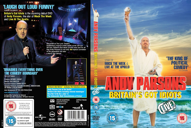 Andy Parsons Britain's Got Idiots DVD Cover