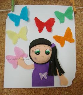Tarjeta-en-el-corcho-de-mariposas-y-fofuchas-como-decorar-una-tarjeta-creandoyfofucheando