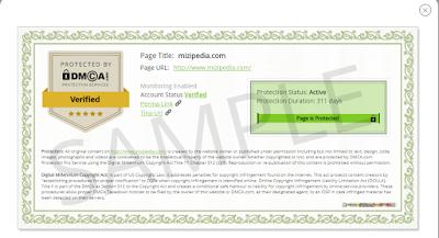 Cara Mudah Memasang DMCA Di Blogger