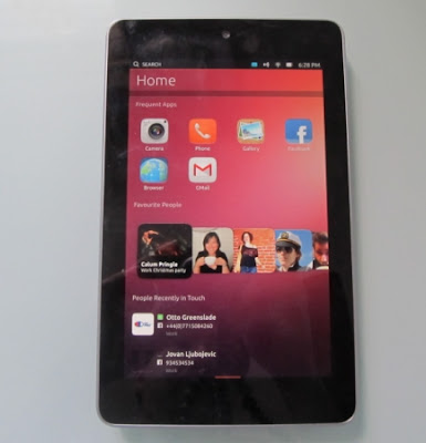 Ubuntu In Nexus 7