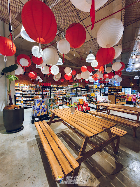 Most Instagrammable spot in Kuala Lumpur The LINC KL Mall with colorful owl mural arts Ben's Independant Grocer