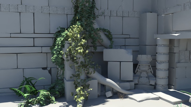 Ivy Generator In Maya (Arabic tutorials)