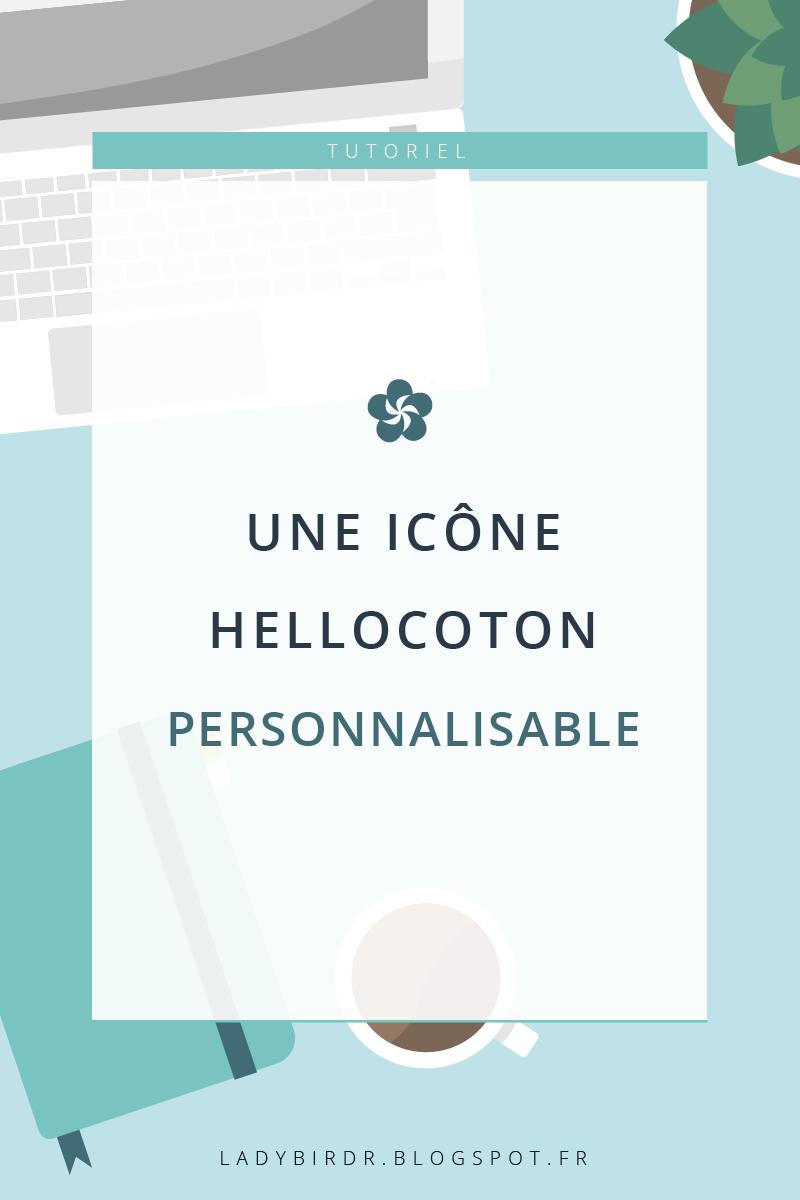 Une icône Hellocoton personnalisable