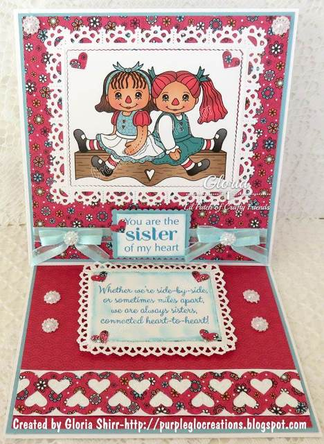 Featured Card at 2 Creative Chicks Challenge