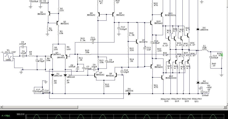 kituri amplificatoare audio  amplificator audio 400w rms