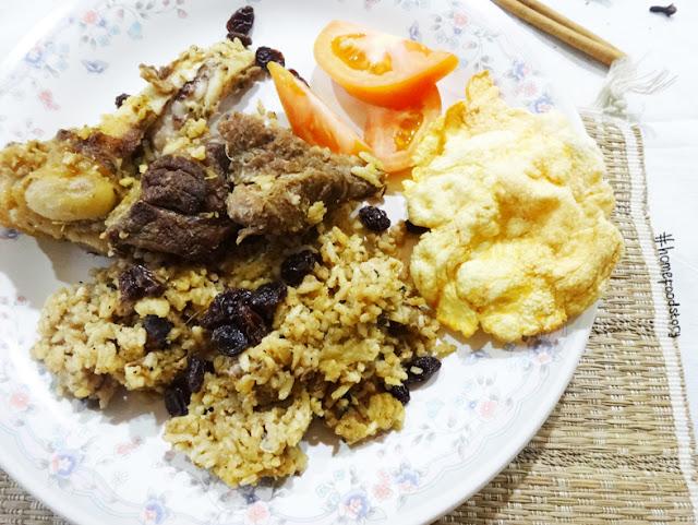 Nasi Kebuli Kambing (Goat Kebuli Rice) || homefoodstory.blogspot.com