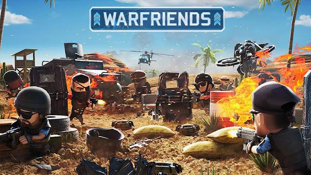 جرب لعبة الحرب مع الاصدقاء WarFriends للايفون والاندرويد