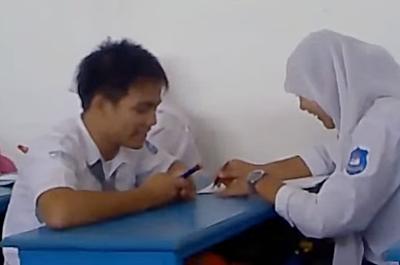 siswa belajar