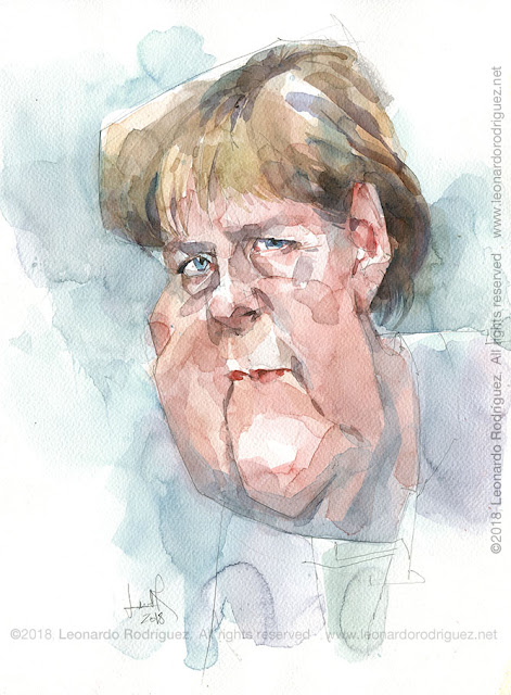 Editorial Cartoons Angela Merkel
