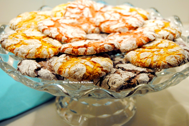Spring Crinkle Cookies at Miz Helen's Country Cottage