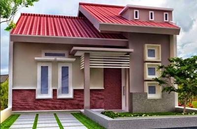 Desain Rumah Nuansa Pink Yang Cantik