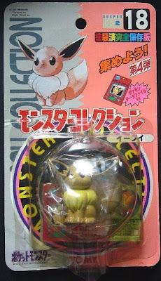 Eevee Pokemon figure Tomy Monster Collection series