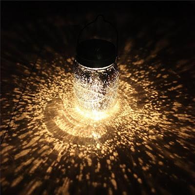 lámpara solar,