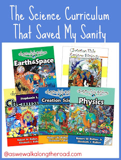 Science curriculum for homeschool