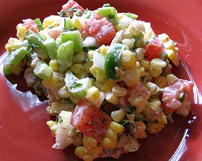 Summer Corn and Ranch Salad