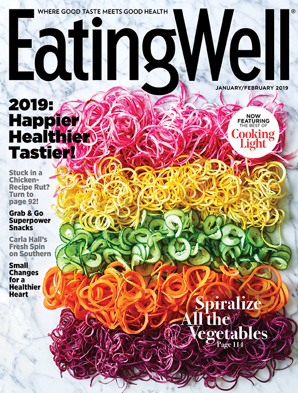 Cover of Eating Well Magazine featuring Leigh Beisch Photography