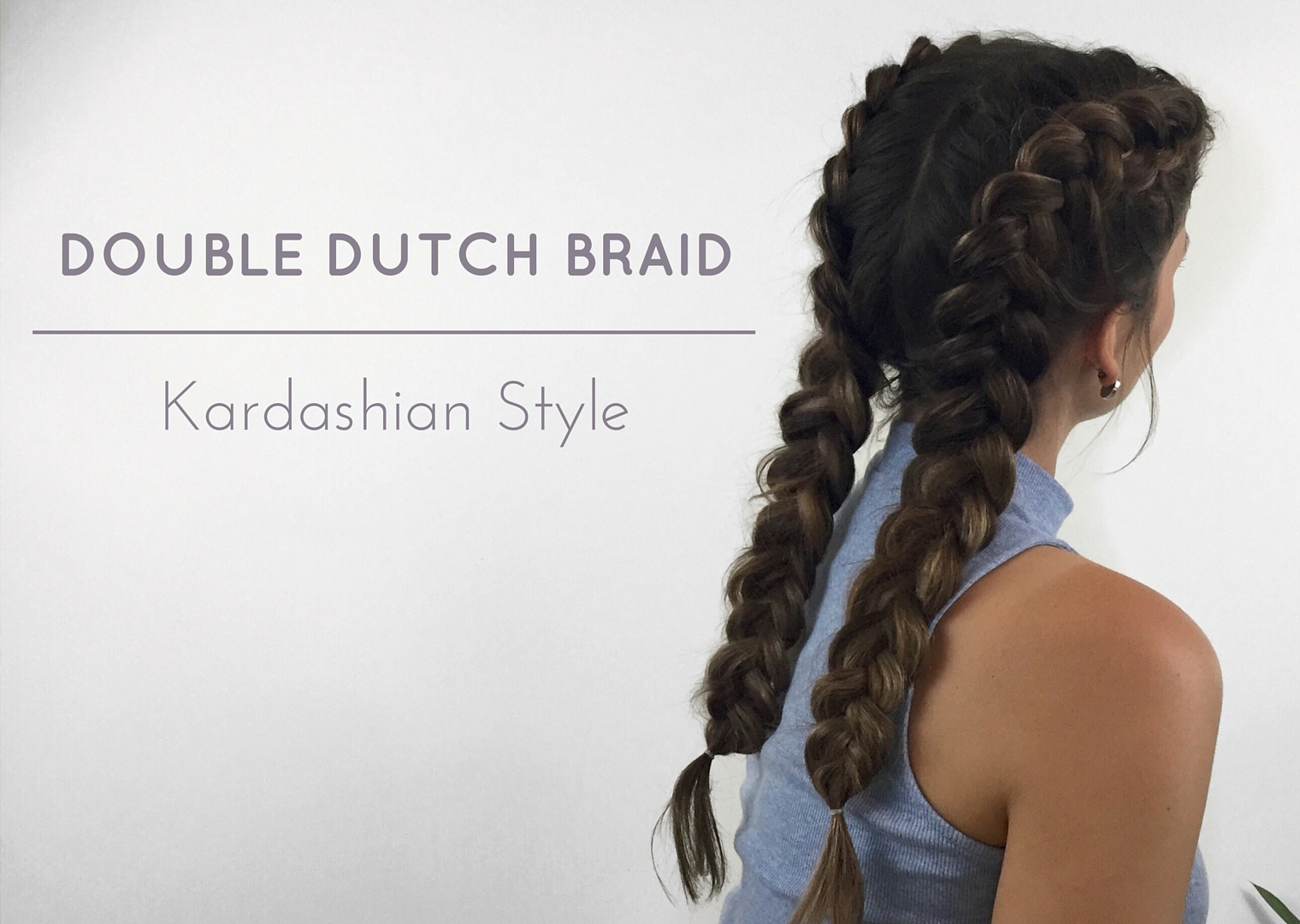aboutjules double dutch braid with extensions