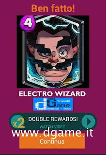 Soluzioni Quiz Clash Royale card livello 39
