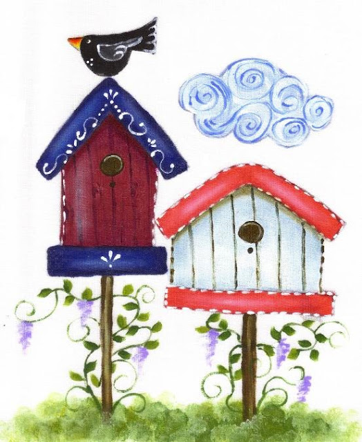 fabrica painting bird house