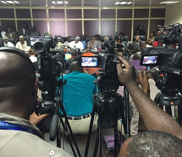 99 Full INEC Chairmans Statement on 2015 Election Schedule